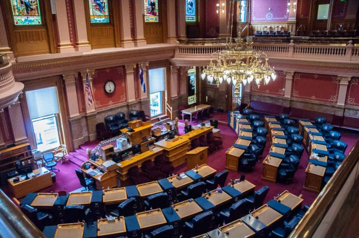 Colorado Senate Chamber