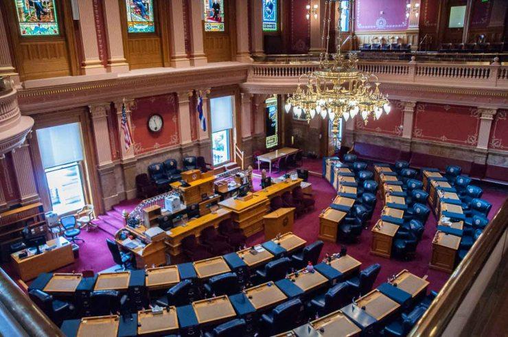 Colorado Senate Chamber