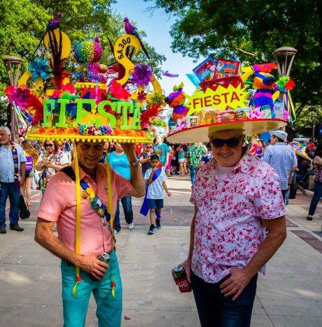 San Antonio Fiesta Hats