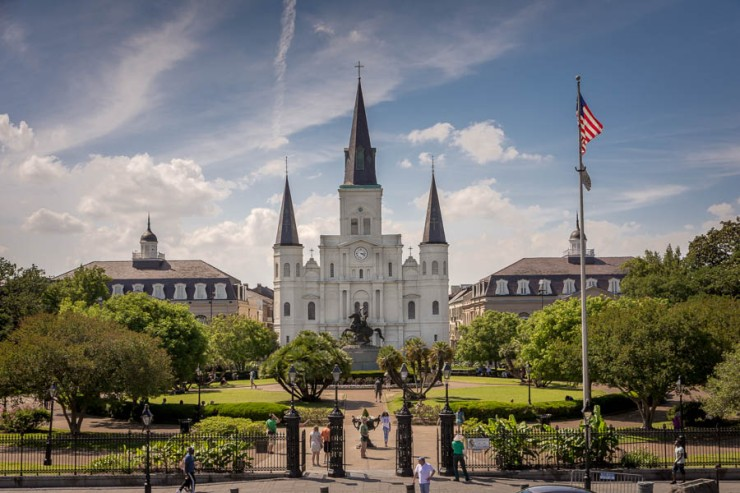 Cathedral on Jackson Square