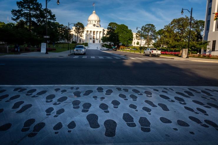 Montgomery Capitol Feet