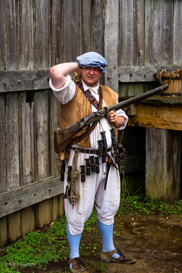 Patriot Soldier with Musket