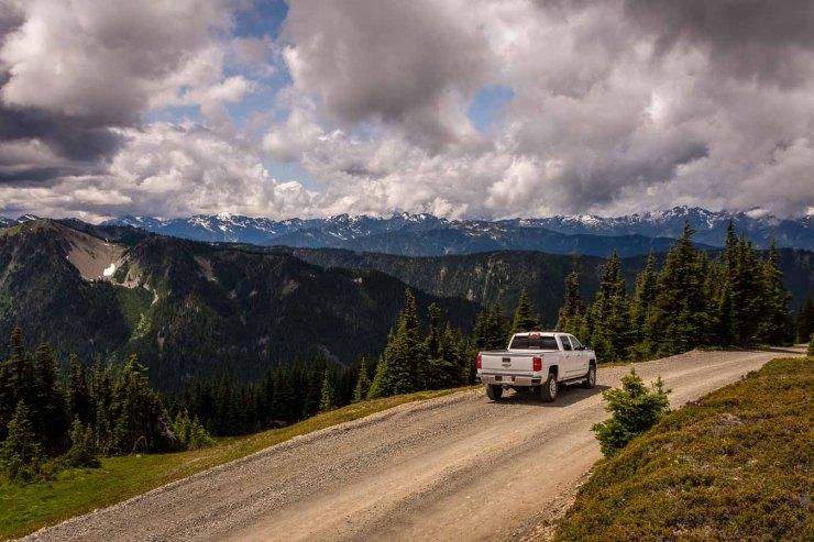 Truck Dirt Road
